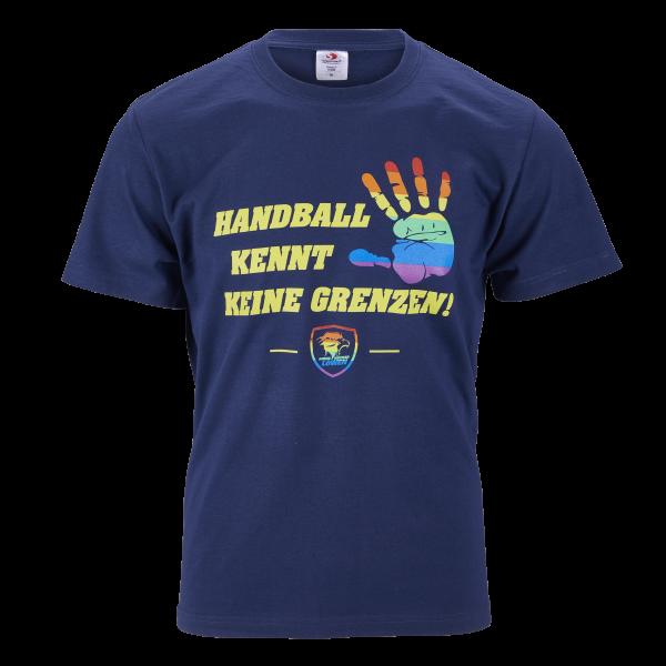 """Löwen Shirt """"Handball kennt keine Grenzen"""""""