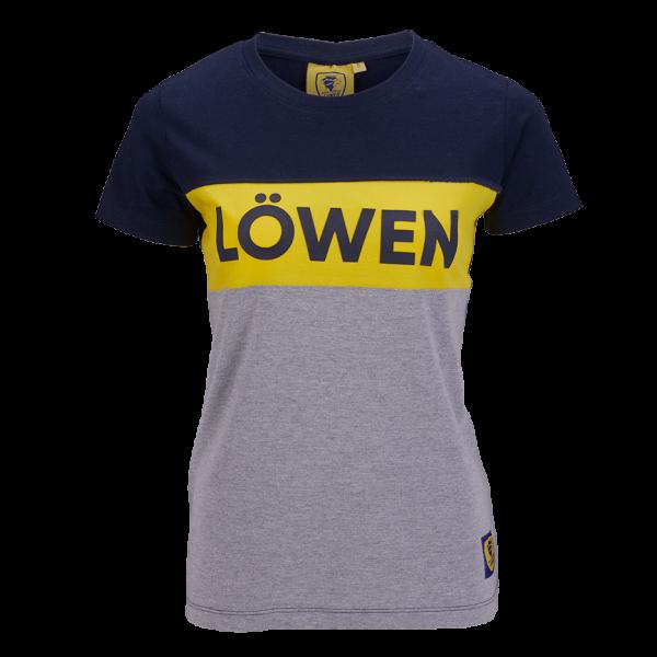 """Löwen Shirt """"Block"""" Damen"""
