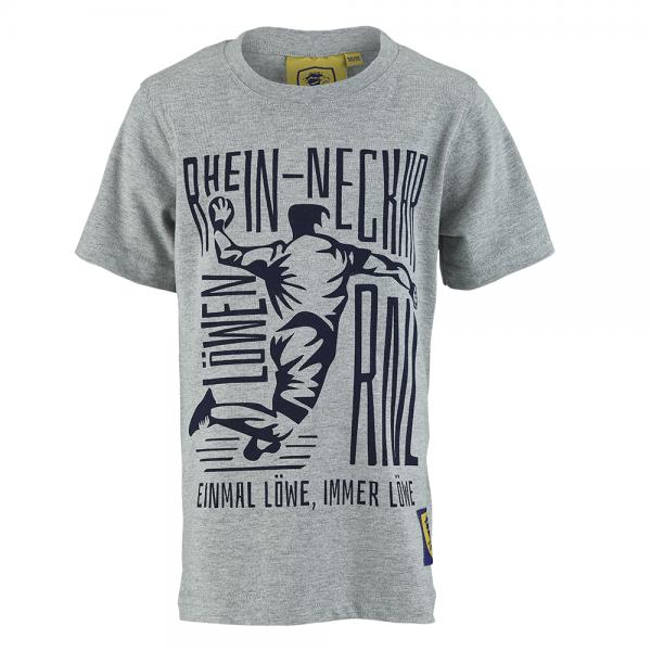 """Löwen Kinder-Shirt """"Handballer"""""""