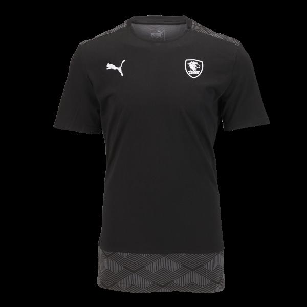Löwen Team-Shirt PUMA 20/21 (schwarz)