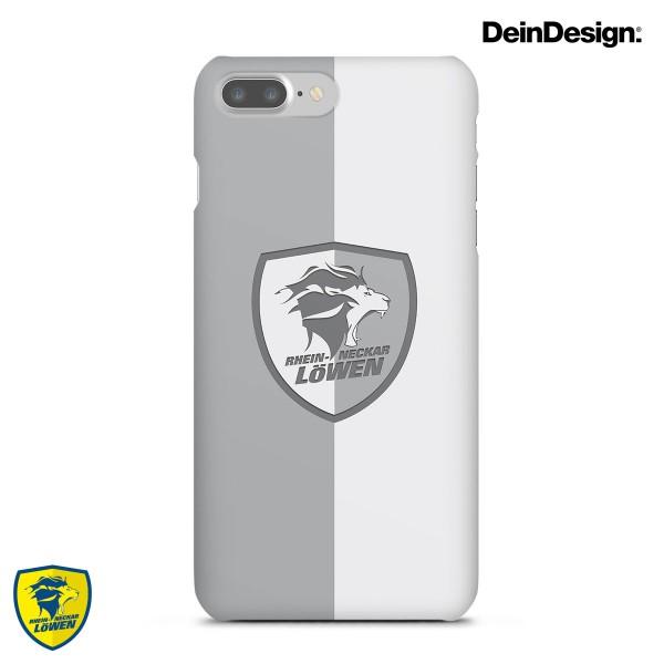 Löwen Handyhülle Logo silber
