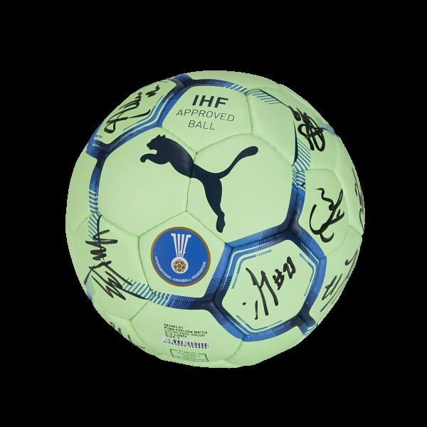 Löwen Handball PUMA Größe 3 - ORIGINAL SIGNIERT -