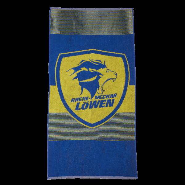 Löwen Duschtuch Logo 70x140