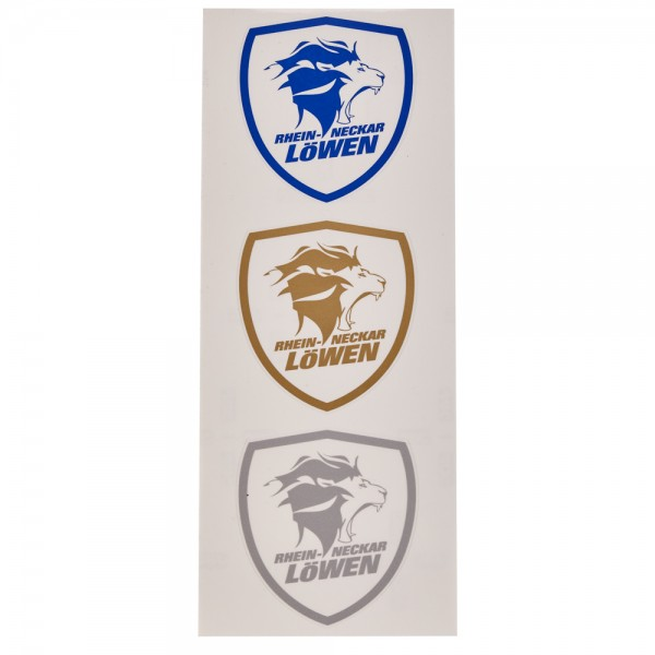 Löwen Aufkleber-Set Logo