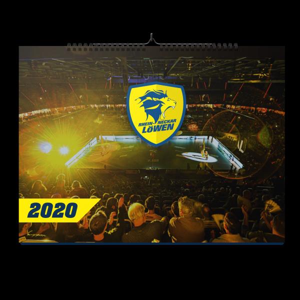 Löwen Jahreskalender 2020
