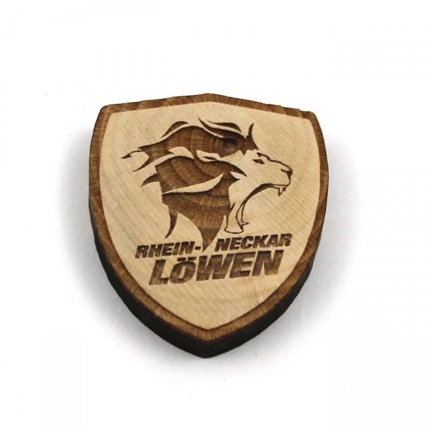 Löwen Magnet Holz